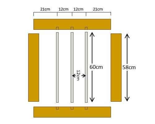 DIYフェンス材料